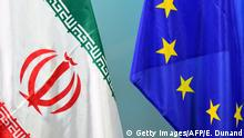 Flagge EU Iran (Getty Images/AFP/E. Dunand)