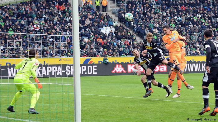 Deutschland Bundesliga Borussia Moenchengladbach gegen 1899 Hoffenheim (imago/J. Huebner)