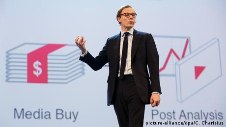 Alexander Nix, CEO of Cambridge Analytica