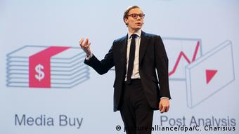 Marketing Messe - Cambridge Analytica (picture-alliance/dpa/C. Charisius)