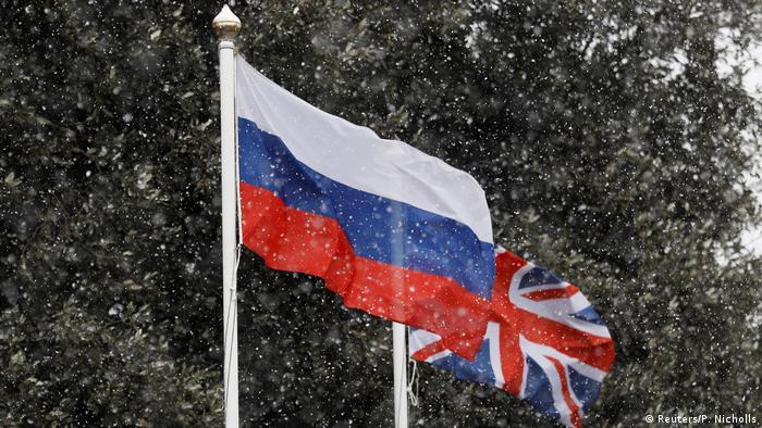 Russland und Großbritannien - Diplomatische Beziehung