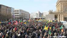Kurds demonstrate in Hanover