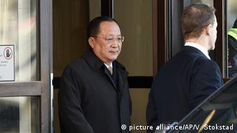 Schweden - Nordkoreanischer Außenminister in Stockholm