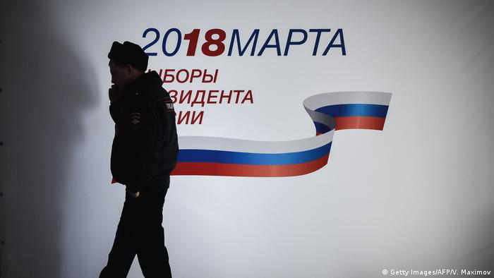 Wahlen Russland 2018 - Wahlstation (Getty Images/AFP/V. Maximov)