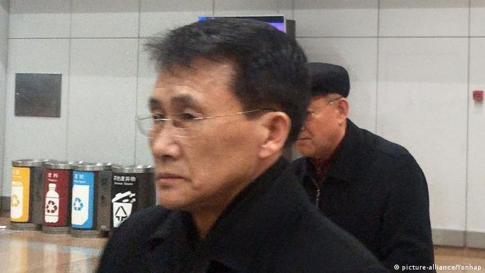 Choe Kang-il Diplomat Nordkorea (picture-alliance/Yonhap)