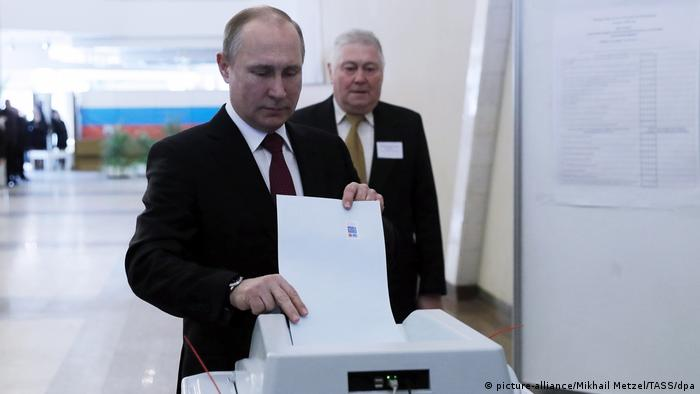 Voting stations are opening across Russian Federation as Putin seeks a fourth term