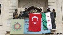 Türkische Armee rückt in Afrin ein