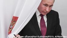 Präsidentenwahl in Russland Wladimir Putin