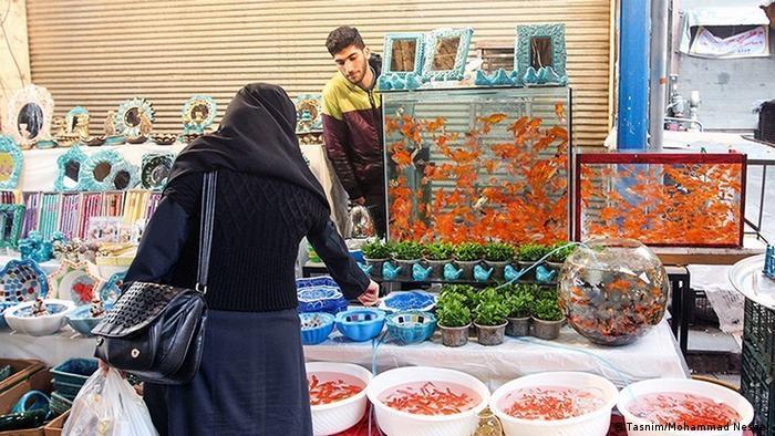 حال و هوای بازار گرگان در آستانه نوروز.