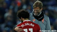 UK Mohamed Salah und Jürgen Klopp (Reuters/L. Smith)