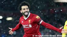 UK Mohamed Salah (imago/Action Plus/D. Blunsden)