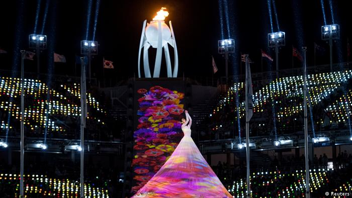 Во время церемонии закрытия Паралимпиады
