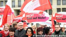 Deutschland - Aktion Equal Pay Day in Berlin