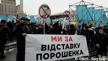 Kundgebung von Saakaschwilis Unterstützer in Kiew 18.3.2018, Kiev