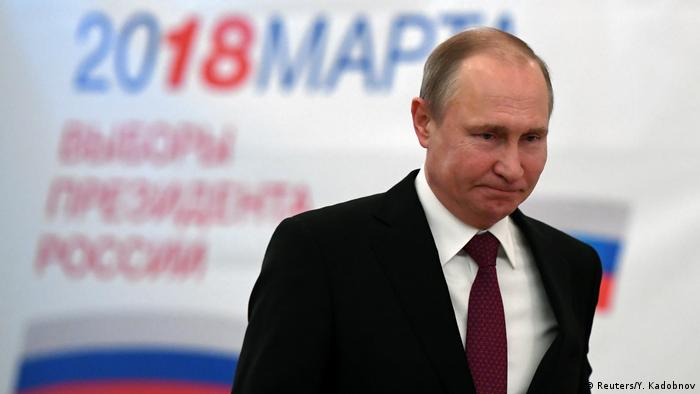 Wahlen in Russland 2018 - Wladimir Putin (Reuters/Y. Kadobnov)