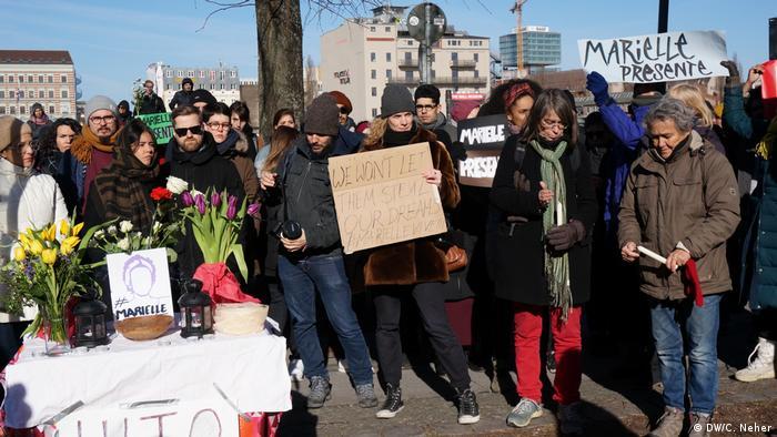 Deutschland - Gedenken an Marielle Franco in Berlin
