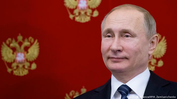 Russland Wahlen 2018 - Wahlsieg für Putin