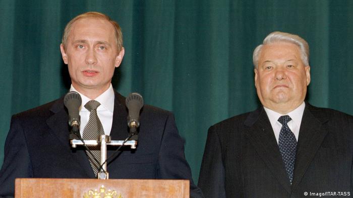Russland - Putins Amtsantritt 2000 und Boris Yelzin