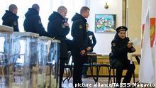 Russland Wahlen 2018 - Wahlsieg für Putin - Krim