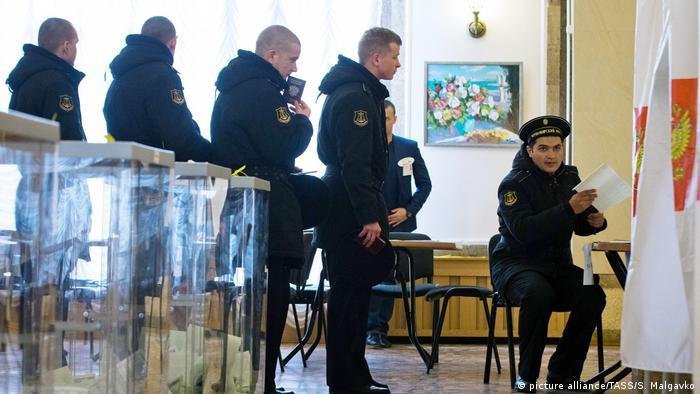 На выборах в России