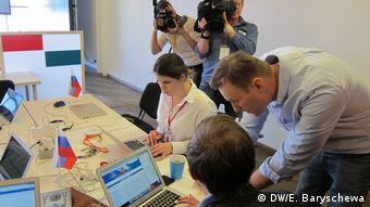 В штабе наблюдателей Алексея Навального