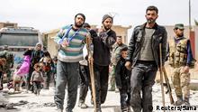 Syrien Ost Ghouta Evakuierung Verwundete