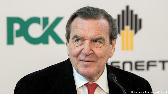 Екс-канцлер Німеччини Ґергард Шредер - голова ради директорів компанії Роснефть