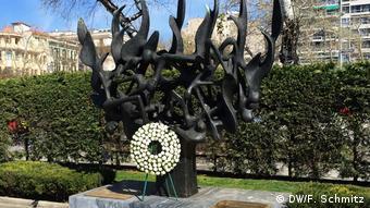 Το μνημείο Ολοκαυτώματος στην πλατεία Ελευθερίας, Θεσσαλονίκη