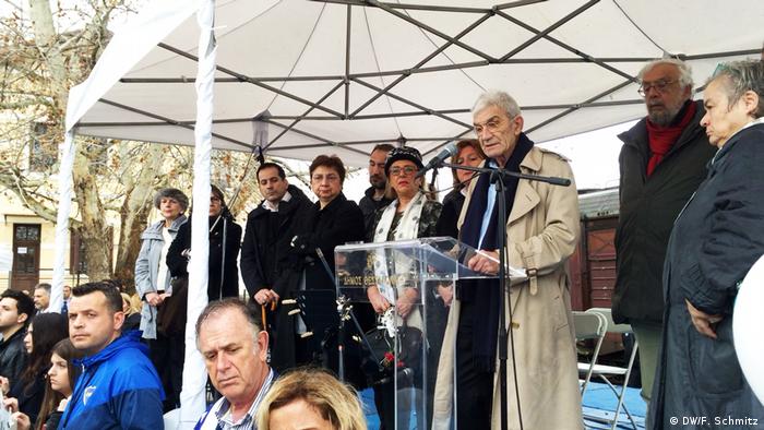 Giannis Boutaris, gradonačelnik Soluna (za govornicom)