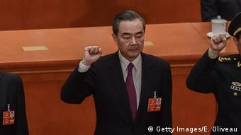 China Nationaler Volkskongress Wang Yi (Getty Images/E. Oliveau)