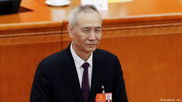 China Nationaler Volkskongress Liu He (Reuters/J. Lee)