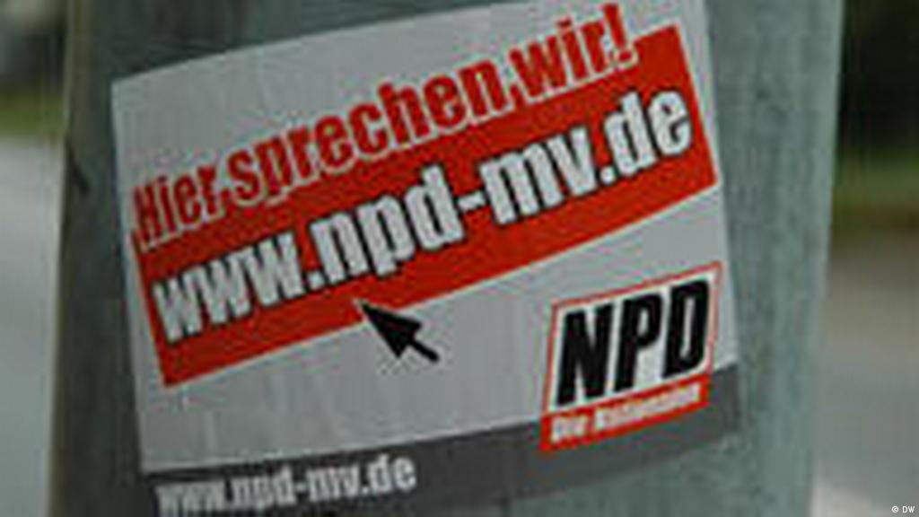 Am Rechten Rand Der Republik Politik Dw 05062009