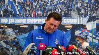 Bundesliga Hamburger SV Christian Titz
