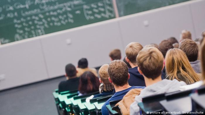 Студенты в Ганновере