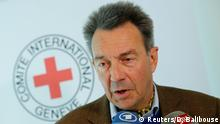 19.03.2018+++ International Committee of the Red Cross (ICRC) President Peter Maurer attends a press briefing on his recent trip to Syria, in Geneva, Switzerland March 19, 2018. REUTERS/Denis Balibouse