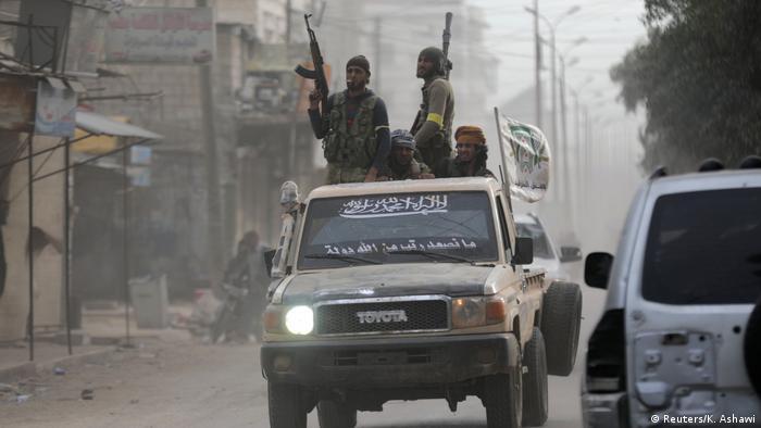 Afrin'de ÖSO savaşçıları, 18 Mart 2018.