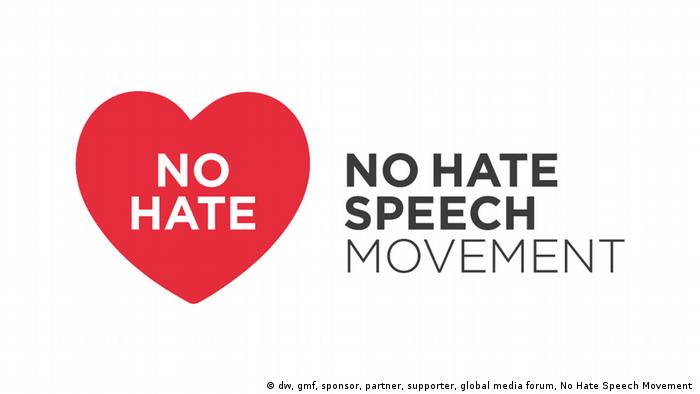 No Hate Speech Movement | GMF 2018 (dw, gmf, sponsor, partner, supporter, global media forum, No Hate Speech Movement )