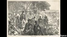 Robert Clive in der Schlacht von Plassey
