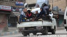 Syrien Normalität kehrt in Afrin zurück