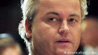 Dutch far-right politician Geert Wilders