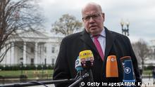 USA Peter Altmaier, Wirtschaftsminister in Washington