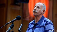 03.2018 Bildbeschreibung: Mohammad Salas steht vor Gericht wegen Mordschlag bei Dervischen-Protest in Teheran lizenzfrei: Mizan