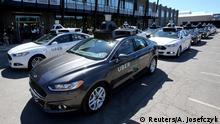 USA selbstfahrendes Auto von Uber in Pittsburgh