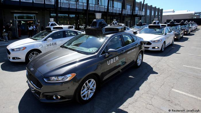 USA selbstfahrendes Auto von Uber in Pittsburgh (Reuters/A. Josefczyk)