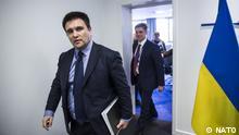 Brüssel Nato-Hauptquartier Pawlo Klimkin, Außenminister Ukraine
