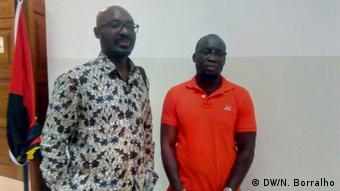 Angola Luanda Prozess Rafael Marques & Mariano Brás