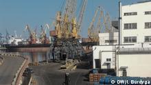 Hafen in Odessa am Schwarzen Meer DW, Igor Burdyga, Odessa
