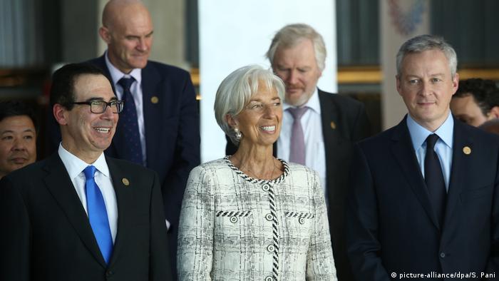 Argentinien G20-Treffen in Buenos Aires (picture-alliance/dpa/S. Pani)