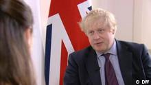 DW Interview mit Boris Johnson