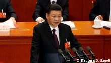 China Nationaler Volkskongress Xi Jinping
